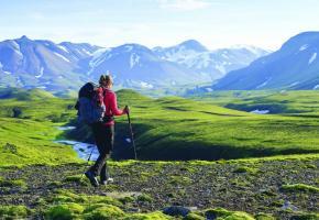 De vastes territoires propices à la randonnée.