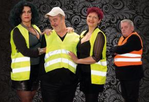 Pat Lagadji, Jean-Marc Morel, Marina Frei et Thierry Meury: un cocktail détonnant et 100% genevois. DR