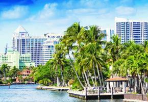 Le long des canaux de Fort Lauderdale, la Venise américaine. PHOTOS DR