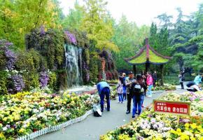 A Chengdu, au parc du Peuple, les jardins font figure d'oasis dans une mégalopole dont la population dépasse celle de la Suisse.