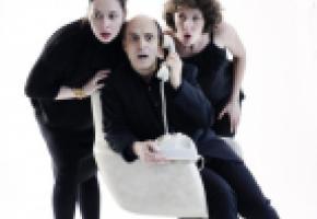 Le spectacle est né de la rencontre de trois comédiens-concepteurs au sein de la 2b Company. DR