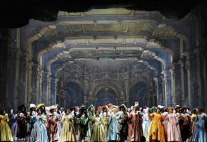 L'opéra de Verdi a été créé au Teatro Apollo de Rome le 17 février 1859. DR