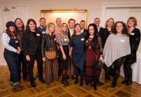 L'ensemble des lauréats de l'édition 2018 des Prix du commerce. DR
