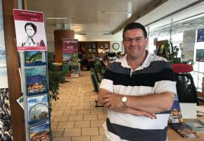 Alexandre Python, patron de l'agence de voyages chrétienne Ad gentes, est aussi un fervent globe-trotteur ayant 70 pays à son actif. DR
