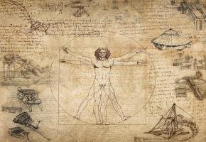 La pièce met en lumière la créativité éblouissante de Léonard de Vinci. DR