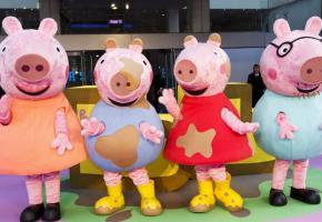 En l'espace de quinze ans, Peppa Pig est devenu une star chez les enfants. DR