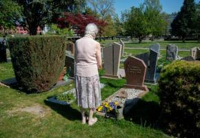Au cimetière Saint-Georges. «Ce qui compte, c'est que les familles puissent déjà faire