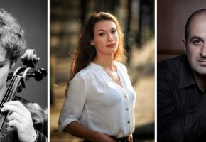 Le mardi 25 août, le public découvrira le talentueux trio composé de Karolos Zouganelis, Catherine Trottmann et Bruno Philippe et . DR