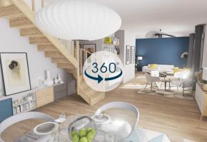 La visite en 3D se base sur des photos réalisées à 360 degrés. DR