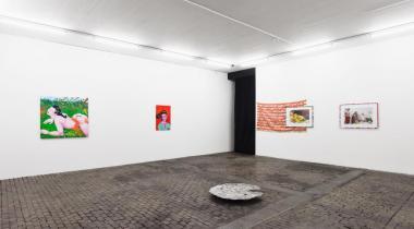 Tous les artistes présentés dans l'exposition ont un lien avec la région lémanique.  Ici des pièces de Jeremy Dafflon, Real Madrid et Inner Light. MATHILDA OLMI