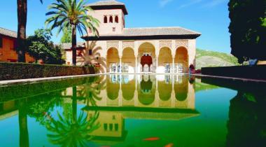 L'Alhambra, à Grenade, un chef-d'œuvre de la culture islamique.