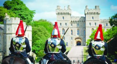 Le château où la reine passe ses week-ends.
