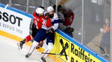 A la patinoire des Vernets, l'ambiance sera électrique dans les gradins pour ce match de préparation en vue des Mondiaux en mai prochain en Slovaquie. DR
