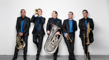 Le Geneva Brass Quintet sera en concert le 3 octobre au Arcoop, à Carouge. BLAISE GLAUSER
