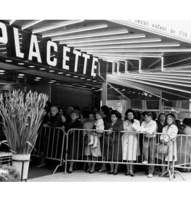 C'est le 12 septembre 1967 que «La Placette» est inaugurée à Genève. PHOTOS DR