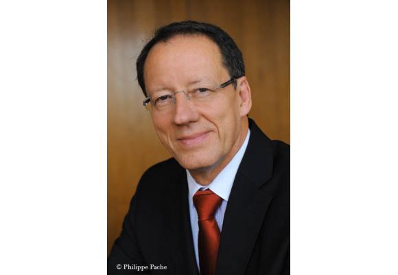 Guy Vibourel, directeur général de Migros Genève prend sa retraite fin décembre. PHILIPPE PACHE