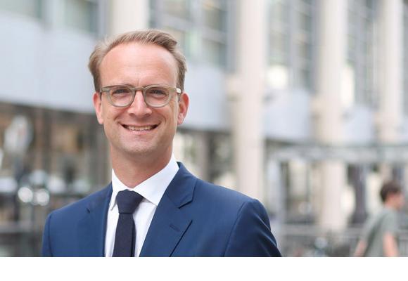 Alexandre de Senarclens, député et candidat PLR au Conseil d'Etat