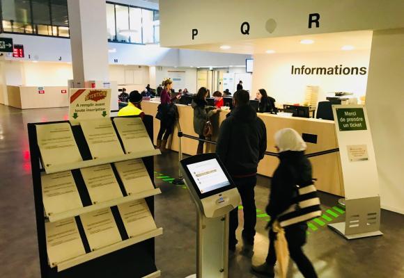 L'Office cantonal de l'emploi près de la gare Cornavin. Depuis quelques années, le calcul du taux de chômage est attaqué de toutes parts. FRANCIS HALLER