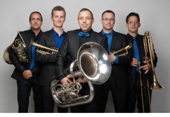 Le Geneva Brass Quintet souffle ses vingt bougies en 2021. DR