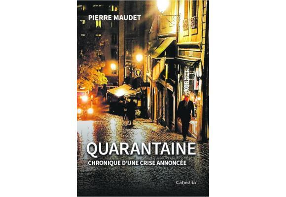 Pierre Maudet a consacré les mois de novembre et décembre pour rédiger son premier livre. DR