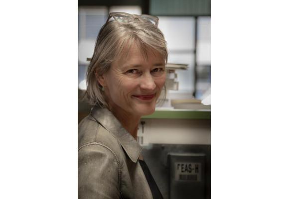 Caroline Coutau:  «On revient tous au livre, aussi parce qu'on a plus de temps.» ROMAIN GUéLAT-ZOé