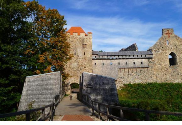 Le parc naturel de la Gauja, en Lettonie, sert d'écrin à un bel héritage architectural.