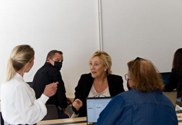 Les candidats participent à des ateliers thématiques. DR