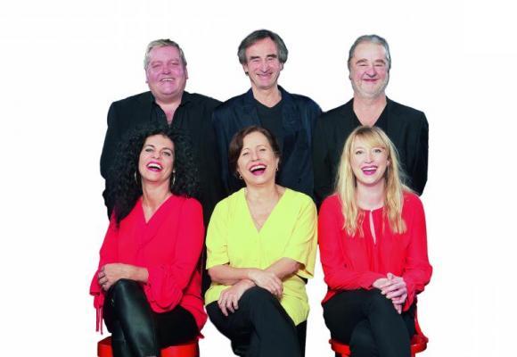 L'équipe de la «Revue du Gniolu» au grand complet et en pleine forme. DR