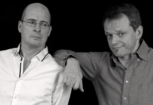 Complices de toujours, Michel Tirabosco et Stéphane Mayer vont nous faire rire. KATHELIJNE REIJSE SAILLET