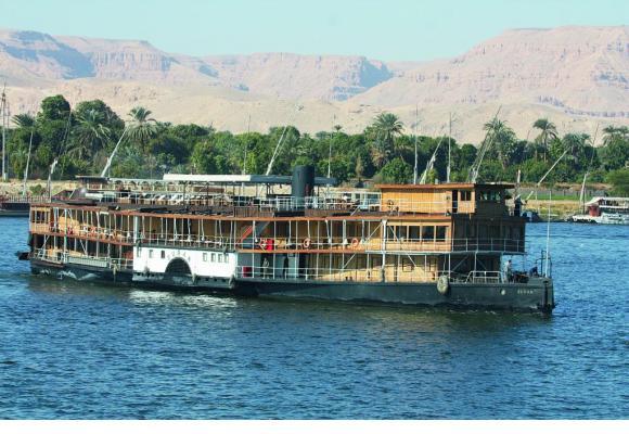 Le «SS Sudan» est le dernier vapeur historique encore en fonction sur le fleuve sacré.