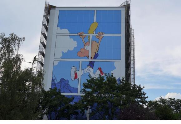 Un Titeuf géant, rue de la Calle, vient d'être dévoilé aux Onésiens. DANIELA MESSINA/DR Une saison propice aux visiteurs indésirables. 123RF/KATARZYNA BIALASIEWICZ