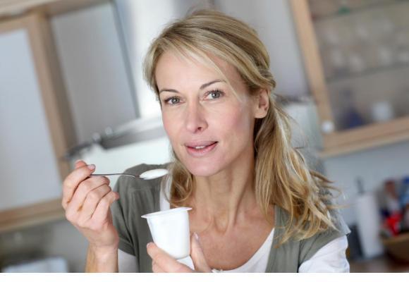 Les produits laitiers contribuent à augmenter l'apport de probiotiques.