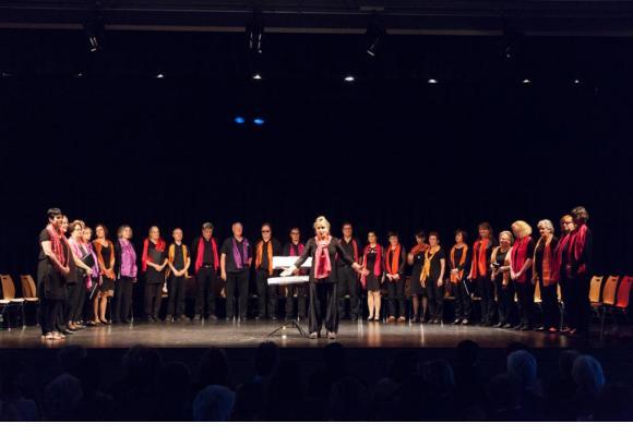 Le chœur Coriandolo distille la joie lors de ses concerts. DR