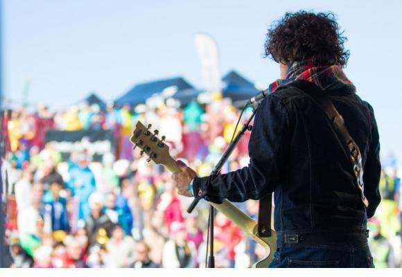 L'ambiance s'annonce survoltée durant le festival Rock the Pistes au cœur du domaine des Portes du Soleil. MATTHIEU VITRÉ