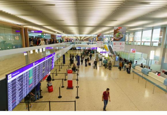 Genève Aéroport précise que «les activités opérationnelles se déroulent dans des conditions normales». 123RF/TEA