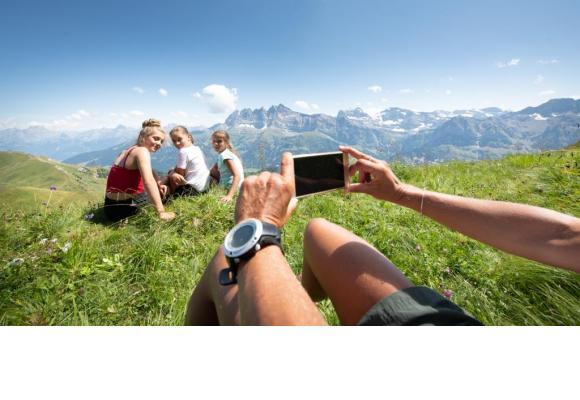 La montagne offre moult possibilités de profiter des vacances. JB BIEUVILLE