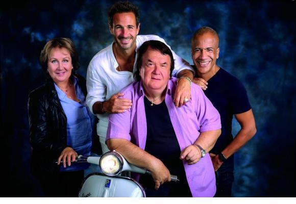 Alain Morisod et ses Sweet People font toujours un carton, quarante-cinq ans après leur première tournée. DR