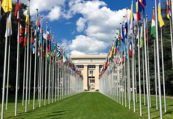 Le siège européen de l'ONU à Genève. En ce début d'année, l'organisation vit une crise de liquidités sans précédent. DR