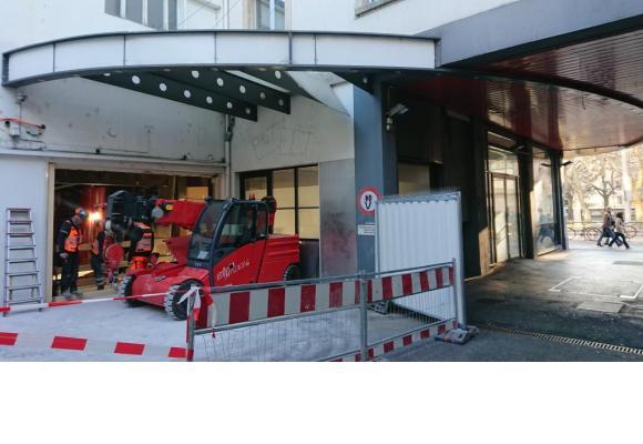 Dans l'ancien célèbre cinéma, les travaux de démolition ont commencé en début d'année. MP