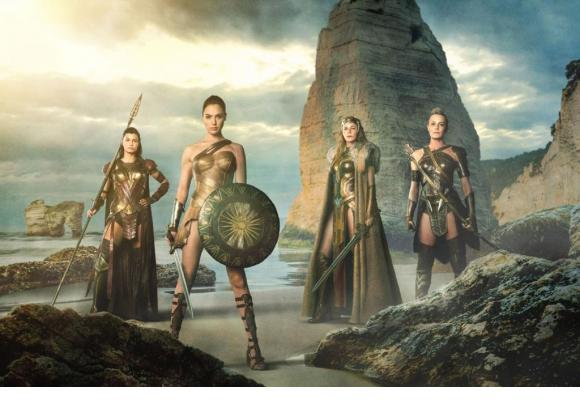Gal Gadot dans «Wonder Woman». DR