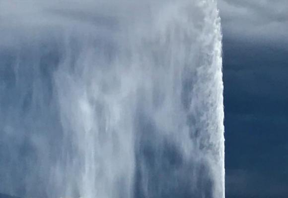 Sur les réseaux sociaux, les internautes partagent des photos du Jet d'eau en attendant