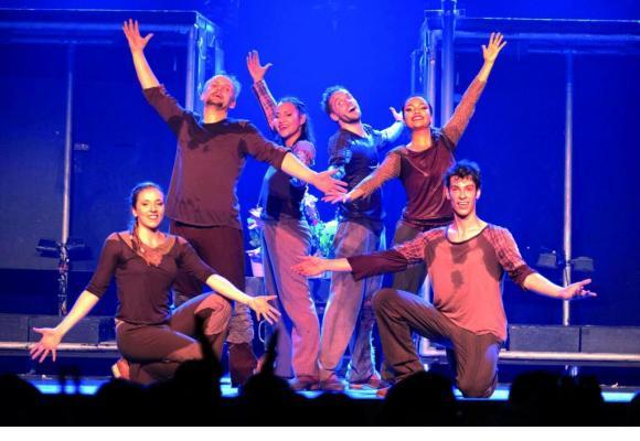 La Martin's Tap Dance Company présentera son show «Slap!» du 26 au 28 novembre. DR