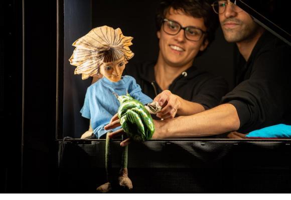 Les enfants aiment toujours autant les spectacles de marionnettes. DR