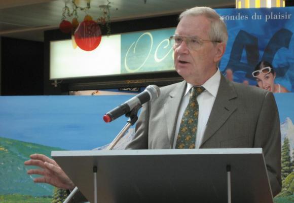 Guy-Olivier Segond s'est éteint le jeudi 12 novembre à l'age de 75 ans. DR