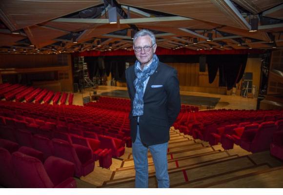 Claude Proz dirige le Théâtre du Léman depuis 2008. STéPHANE CHOLLET