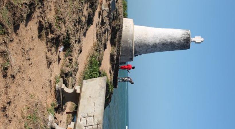 Le Vasco de Gama Pillar, où le célèbre navigateur portugais entama son périple pour les Indes. DW