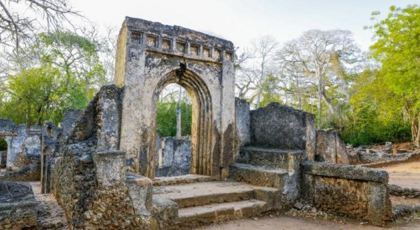 Les ruines de Gede témoignent de l'existence et du passé d'une grande ville swahilie du XIIIe siècle. 123RF/MARIUS DOBILAS