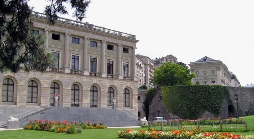 Le Palais Eynard, siège de la Mairie de Genève. WIKIMEDIA
