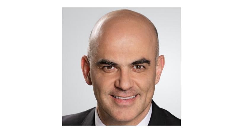 Alain Berset, conseiller fédéra. dr