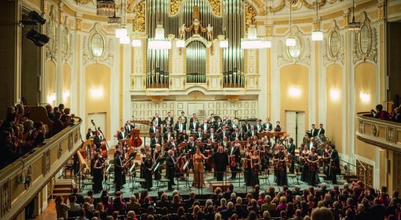 Un concert au Mozarteum, une université de musique qui accueille, chaque année, près de 1600 étudiants. DW